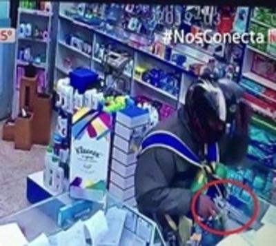 Capturan a ladrón de farmacias en Coronel Oviedo