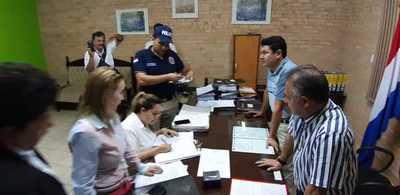 Allanan la Junta Municipal y la Intendencia de CDE
