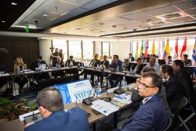 Histórica reunión de Conmebol