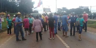 Con cierre de ruta, apoyan desbloqueo en Alto Paraná