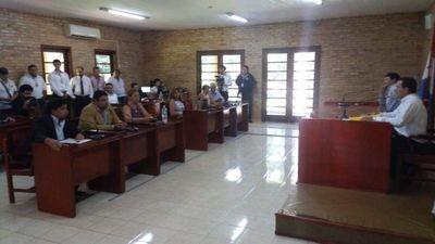Ministerio Público allana la Junta Municipal de Ciudad del Este
