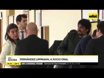 Fernández Lippmann a juicio oral