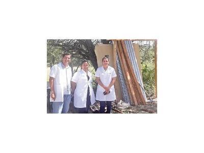 MSP instala carpa en Argentina