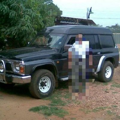 Roban vehículo frente al Hospital de Luque