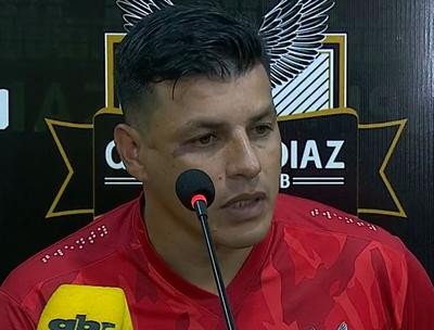 Alfredo Cano valora el punto obtenido ante Guaraní