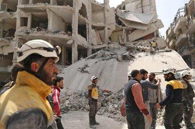 Diez civiles muertos en Siria por bombardeos de ejército ruso