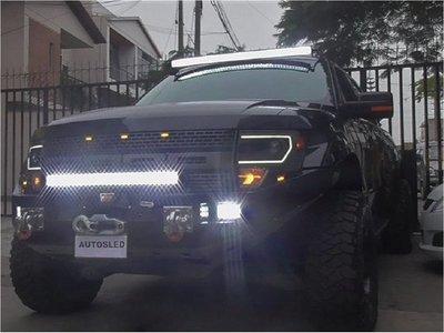Patrulla Caminera inicia control de reflectores, buscahuellas y barras led
