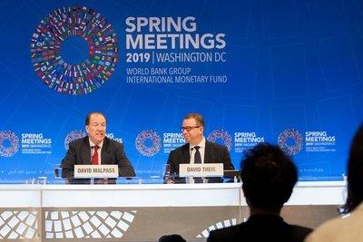 El nuevo presidente del BM escoge África como destino de su primer viaje