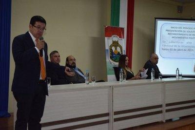 Lanzan cronograma electoral para municipales en Itapúa