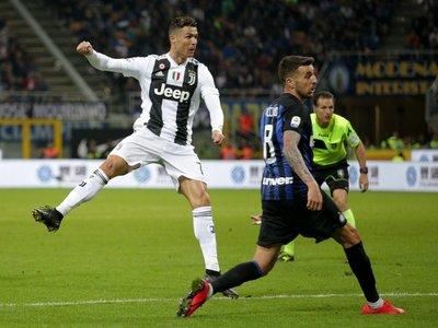 Cristiano niega al Inter el triunfo en el Derbi de Italia