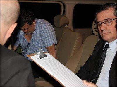 General Ramón Benítez y otros funcionarios del Detave se abstienen de declarar