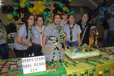Grupo Scout Gral. Genes celebró su 25 aniversario