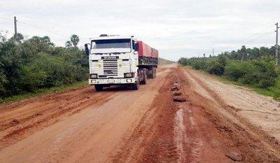 Pobladores denuncian pésimo estado de la ruta Concepción-Pozo Colorado
