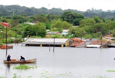 Cada emergencia por inundaciones le cuesta al Estado G. 122.200 millones