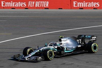 Bottas bate a Hamilton en Azerbaiyán