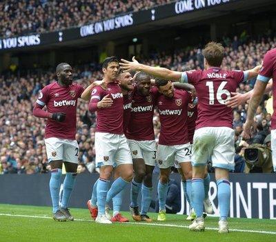 El West Ham de Balbuena sorprendió al Tottenham