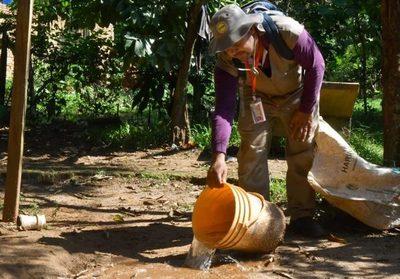 Unos 45.000 criaderos fueron eliminados en campaña antidengue en Alto Paraná