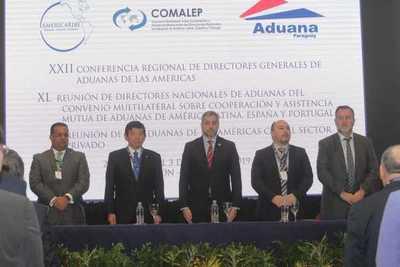 Directores de Aduanas se reúnen en Asunción para replantear estrategias contra delitos aduaneros