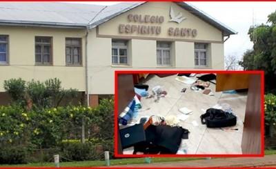 Millonario hurto en colegio de Mallorquín