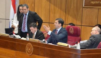 Senadores tratarán reemplazo de Payo este jueves