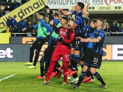El Atalanta, en zona de Champions League