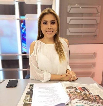 La nueva presentadora del informativo del mediodía del SNT