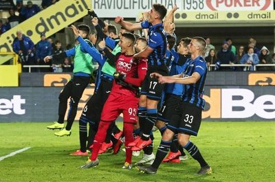 "Atalanta, en zona ""Champions"""