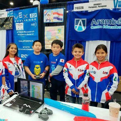 Arambé ya está presente en el Mundial de Robótica