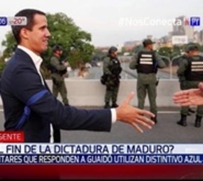 Reacciones al llamado de levantamiento contra la dictadura de Maduro