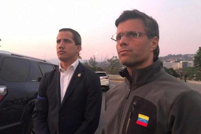 Venezuela: Militares liberan a Leopoldo López de su arresto domiciliario