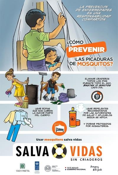 Confirman unos 3.000 casos de dengue en Paraguay