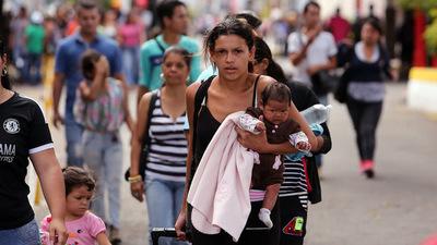 Al menos 400.000 niños y niñas han dejado Venezuela