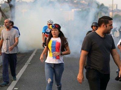 """Marito: """"Valiente pueblo de Venezuela! Llegó tu hora!"""""""