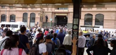 Amenaza de bomba: Cerraron una de las principales estaciones de Buenos Aires