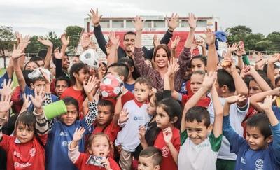 Programa Golazo reunió a centenar de niños y niñas en Villa Hayes