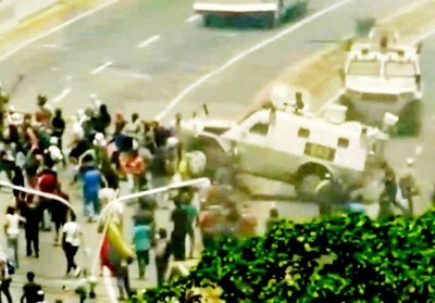 Dictadura venezolana aplasta al pueblo