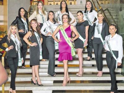 Presentan a las candidatas del certamen Lady Paraguay