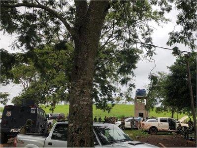 Tiroteo entre delincuentes y policías en Amambay