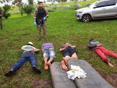 Operativo en Amambay deja seis abatidos del Comando Vermelho