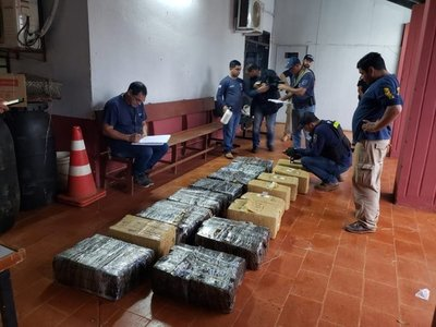 Canindeyú: Incautan más de 300 kilos de marihuana en Yby Pytá