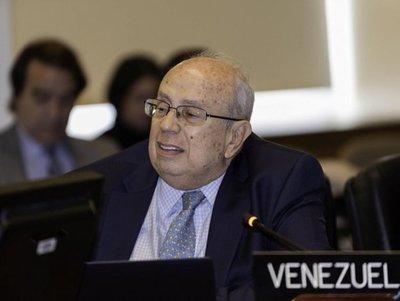 Enviado de Guaidó pide a la OEA respaldo al levantamiento frente a Maduro