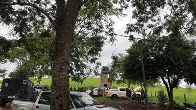 Siguen operativos en Amambay