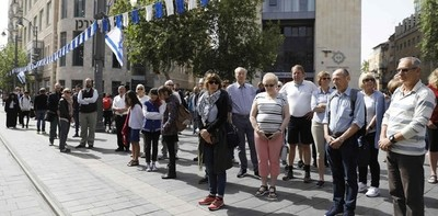 Israel se detiene para recordar a millones de judíos asesinados en Holocausto