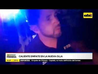Árbitro denuncia agresión tras partido en la Nueva Olla
