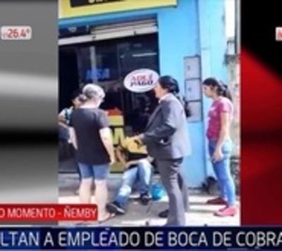 Malvivientes asaltan a empleado de boca de cobranzas en Ñemby