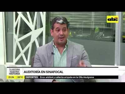 Auditoria en Sinafocal