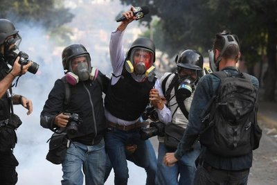 Segundo día de la Operación Libertad en Venezuela