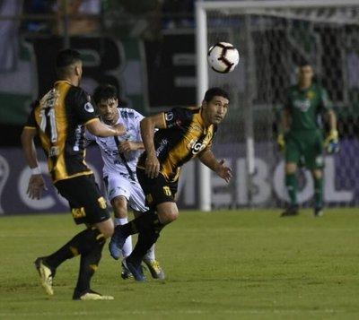 Guaraní, afuera de la Copa