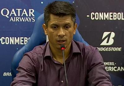 Gustavo Florentín destacó la labor de sus muchachos a pesar de la eliminación