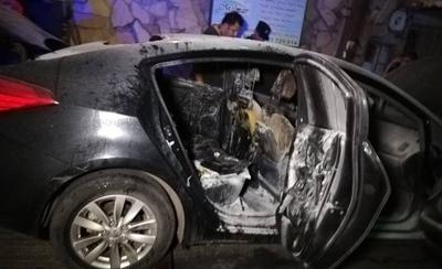 Vehículo se incendió tras ataque de tortoleros